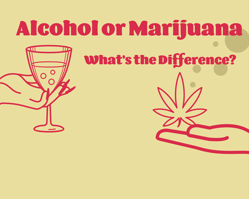 Alcohol or Marijuana: What's the Difference?