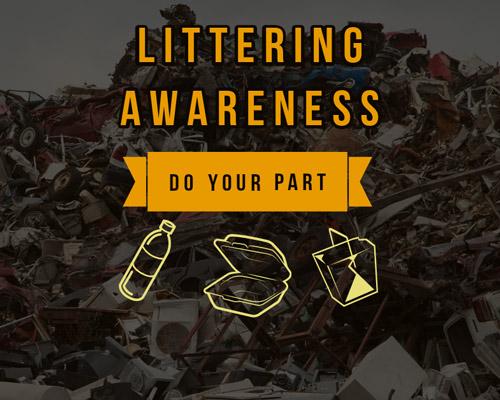Littering Awareness – Do Your Part